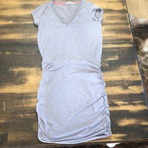 Athleta cotton jersey stretch dress sz XS Guc